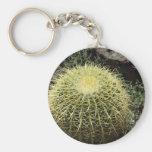 Cactus de barril llavero personalizado