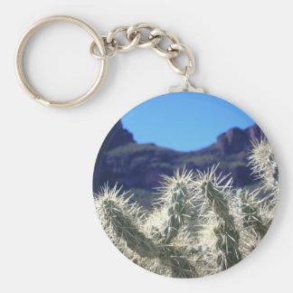 Cactus de Choya - llavero de Arizona