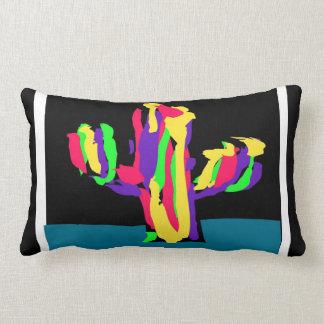 Cactus de colores - almohada de tiro