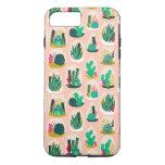 Cactus de la planta del terrario/Andrea suculentos Funda iPhone 7 Plus