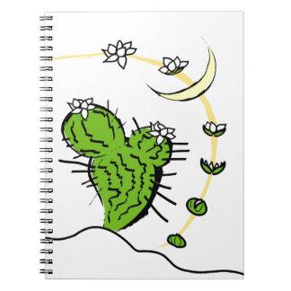 Cactus de Luna Cuaderno