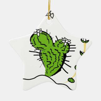 Cactus de Luna Adornos