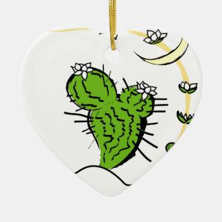 Cactus de Luna Ornamento Para Reyes Magos