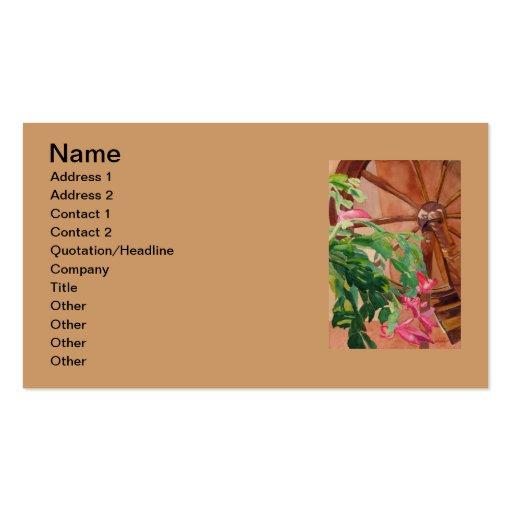 Cactus de navidad plantillas de tarjeta de negocio