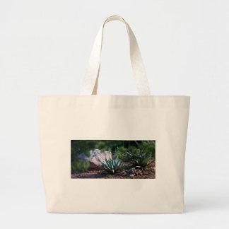 Cactus del agavo bolsas de mano