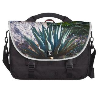Cactus del agavo bolsa de ordenador