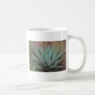 Cactus del agavo taza