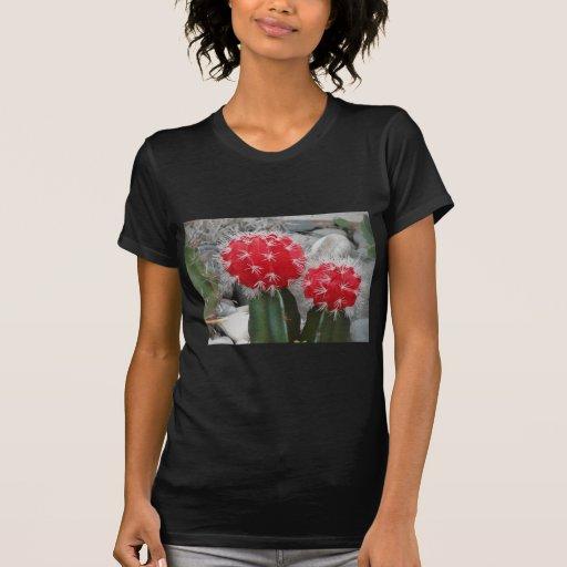 Cactus del contraste t shirt