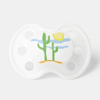 Cactus del desierto chupetes