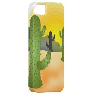 Cactus del desierto iPhone 5 coberturas