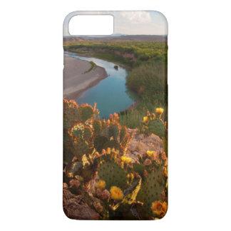 Cactus del higo chumbo (SP de la Opuntia.) Funda iPhone 7 Plus