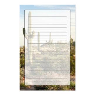 Cactus del Saguaro, Arizona, los E.E.U.U. Papelería