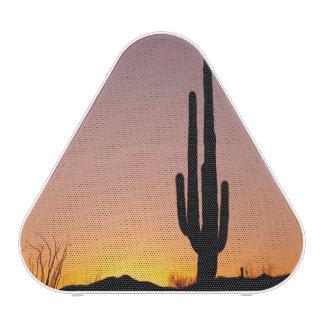 Cactus del Saguaro en la puesta del sol Altavoz