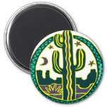 Cactus del sudoeste imán