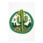 Cactus del sudoeste papelería de diseño