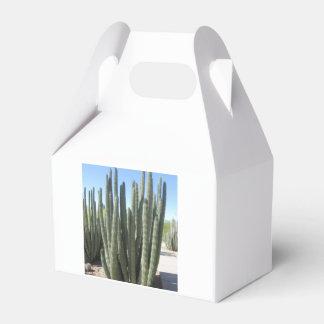 Cactus del tubo de órgano caja para regalo de boda