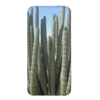 Cactus del tubo de órgano funda acolchada para iPhone