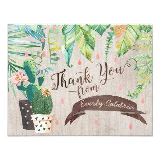 Cactus Desert Shower Thank You Cards