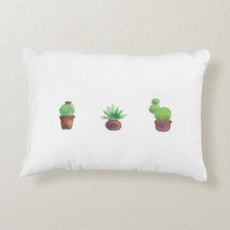Cactus Design Accent Pillow