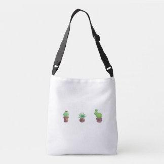 Cactus Design All-Over-Print Cross Body Bag