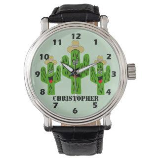 Cactus Design Customized Watch