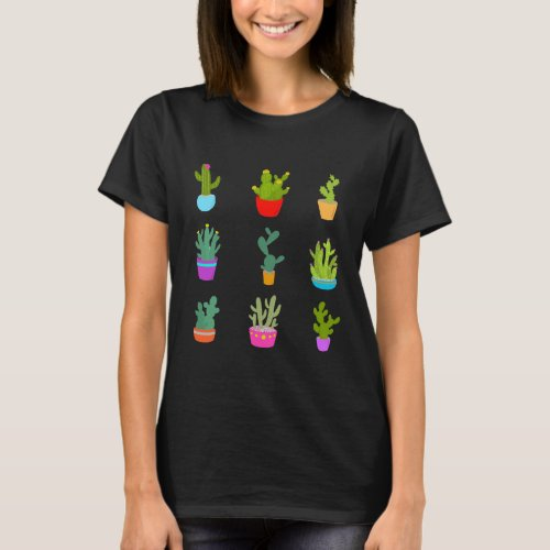 Cactus Design Womens Shirt