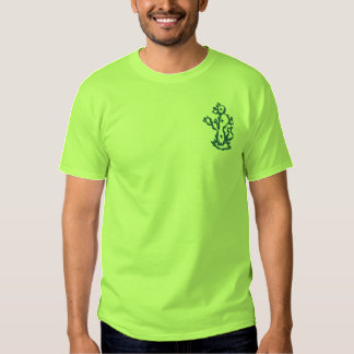 Cactus Embroidered Shirt