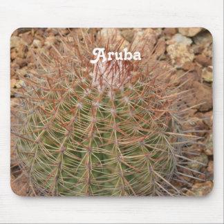 Cactus en Aruba Tapete De Ratón