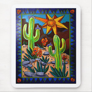 Cactus en el sudoeste alfombrillas de raton