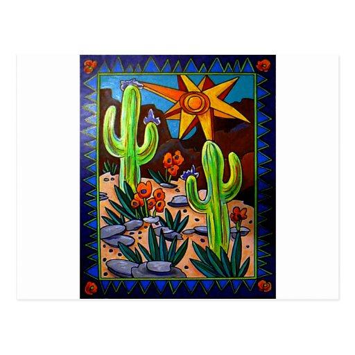 Cactus en el sudoeste postales