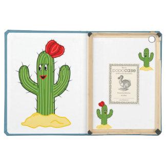 Cactus feliz galón del dibujo animado