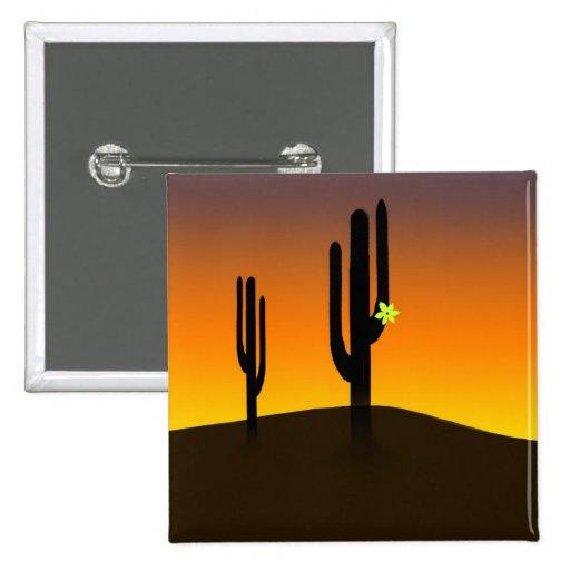 Cactus Flower Pins