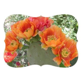 Cactus Flower Card