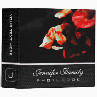 Cactus Flower Family Photo Books Binder