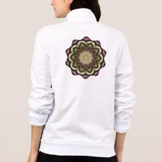 Cactus Flower Kaleidoscope Mandala Printed Jackets