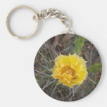Cactus Flower Key Chains