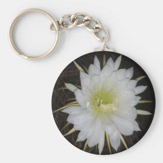 Cactus Flower Keychain