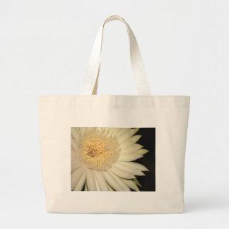 Cactus flower large tote bag