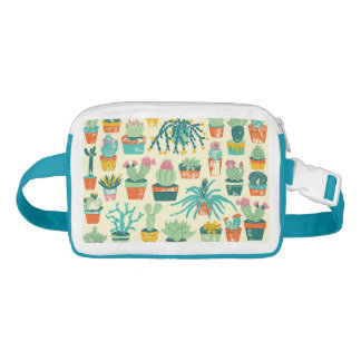 Cactus Flower Pattern Fanny Pack