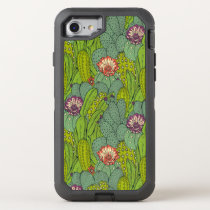 Cactus Flower Pattern Otterbox Apple iPhone 7 Case