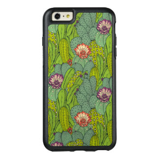Cactus Flower Pattern OtterBox iPhone 6 Plus Case
