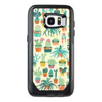 Cactus Flower Pattern Samsung Galaxy S7 Edge Case
