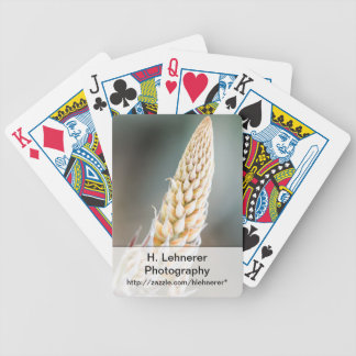 Cactus Flower Bicycle Playing Cards