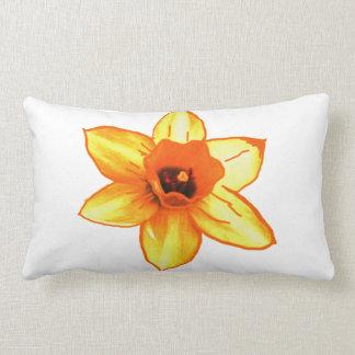 Cactus Flower Template increase decrease size gift Lumbar Pillow