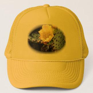 Cactus Flower Trucker Hat