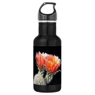 Cactus Flowers 18oz Water Bottle