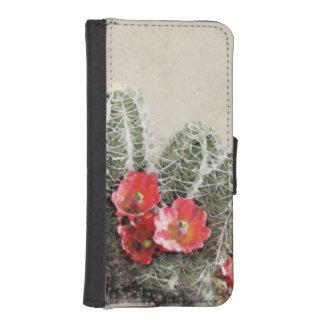 Cactus Flowers Artwork iPhone 5 Wallet Case