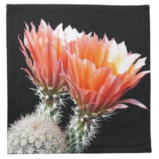Cactus Flowers Cloth Napkins
