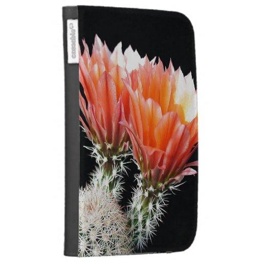 Cactus Flowers Kindle Case
