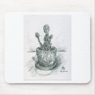 cactus, flowers, nature , plants , pot, magic mouse pad